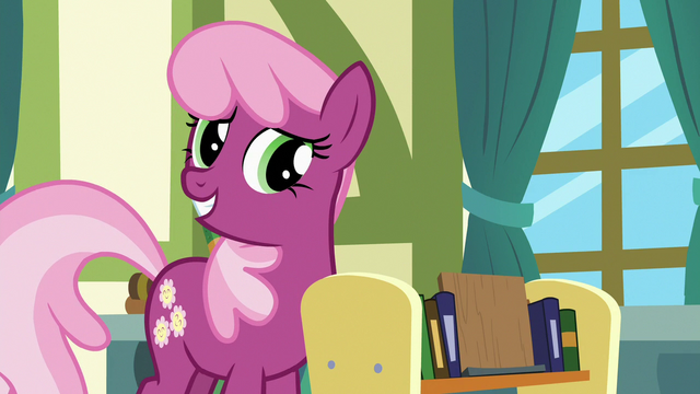 "File:Cheerilee ""it was good you came to me"" S7E3.png"