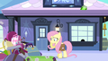 Fluttershy thinking face S3E11.png