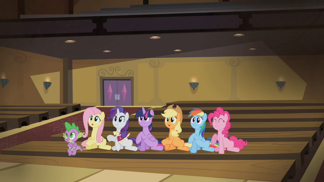 File:Mane 6 stomping their hooves S4E08.png