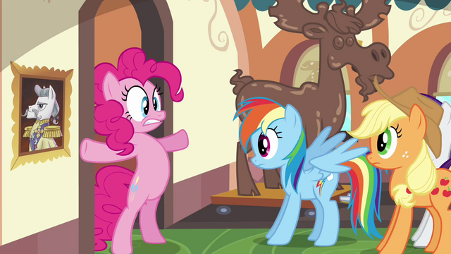 File:Pinkie Pie blocking entrance S2E24.png