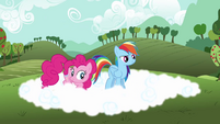 Rainbow Dash 'So it floats back up' S3E3