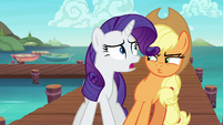 "Rarity ""what's the emergency?"" S6E22"