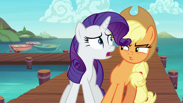 "File:Rarity ""what's the emergency?"" S6E22.png"