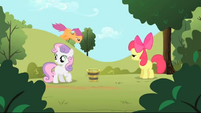 Scootaloo in the air S1E23