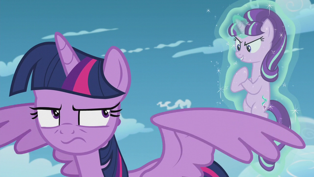 "File:Starlight Glimmer smug ""that's too bad"" S5E25.png"