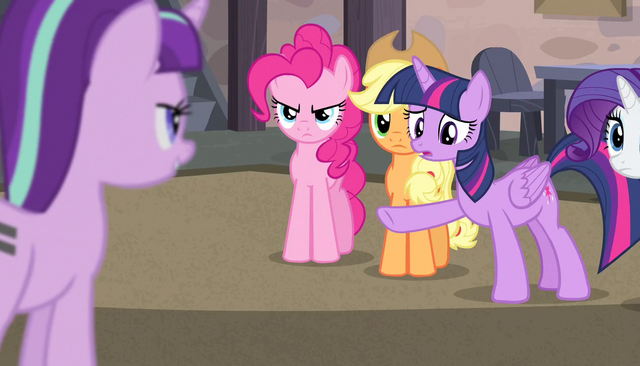 "File:Twilight ""is that why you all have those cutie marks?"" S5E1.png"
