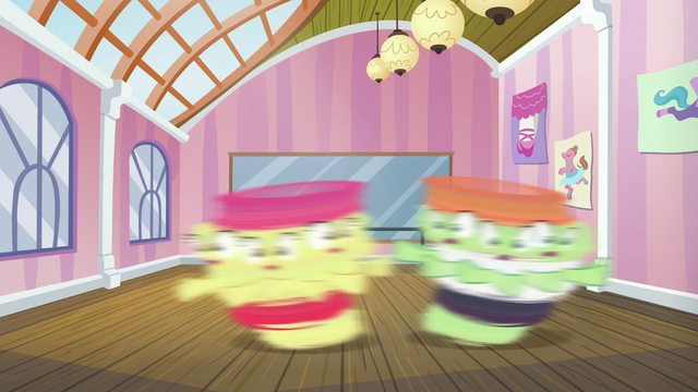 File:Apple Bloom and dancing colt spin around S6E4.png