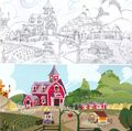 Art of Equestria page 157 - Sweet Apple Acres design and finish.jpg