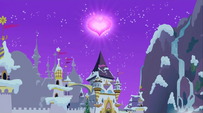 Canterlot in winter S2E11