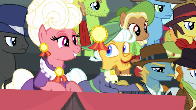 """File:Elderly spectator mare """"he is awful funny"""" S5E6.png"""