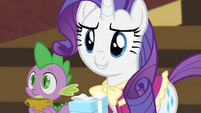 Rarity '...now that you're no longer...' S4E08