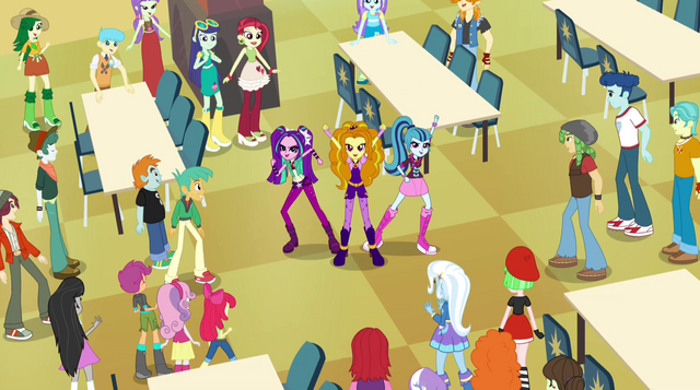 File:The Dazzlings sing to the students EG2.png