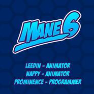 FANMADE Mane6logo