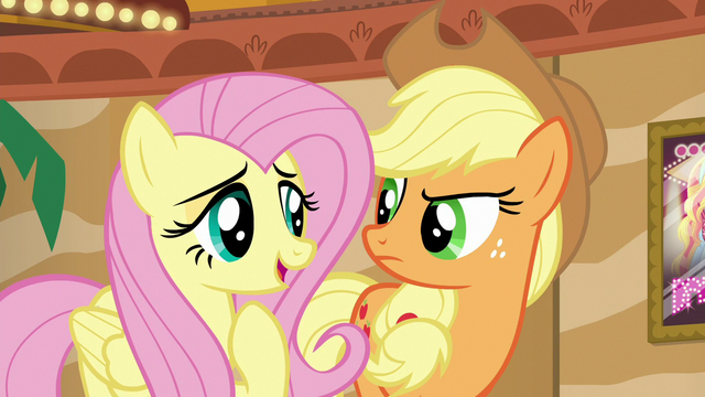 "File:Fluttershy ""solving a friendship problem is important"" S6E20.png"