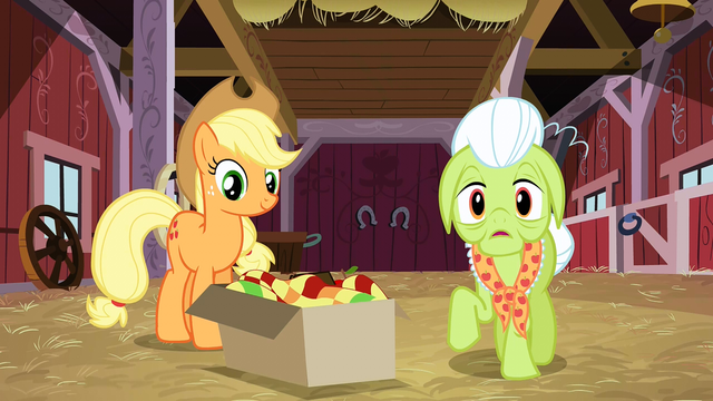 "File:Granny Smith ""Everypony?"" S3E08.png"