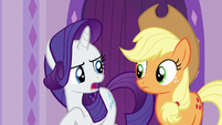 "Rarity ""the solution is obvious"" S6E10"