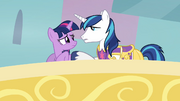 Shining Armor Consoles Twilight S02E25
