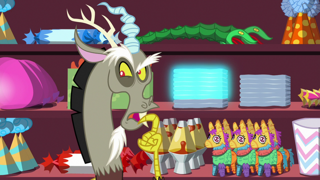 """File:Discord """"not good enough for Fluttershy"""" S7E12.png"""