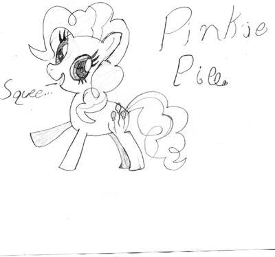 FANMADE Pinkie Pie drawing