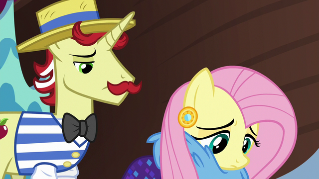File:Flam and Fluttershy feeling like failures S6E20.png
