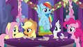Main five ponies looking concerned S7E1.png