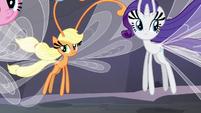 Main ponies as Breezies S4E16