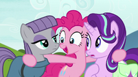 "Pinkie Pie ""how is this possible?"" S7E4"