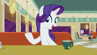 "Rarity ""all over Equestria"" S6E9"
