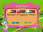 Carnival Games rewards MLP Game
