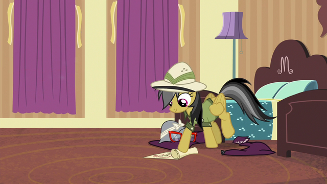 File:Daring Do rolls up the map S6E13.png