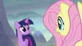 """Fluttershy """"they know what happened here!"""" S5E23.png"""