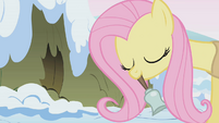 Fluttershy ringing a bell S1E11