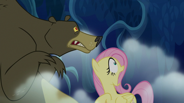 "File:Fluttershy screaming ""ruuuun!"" S6E15.png"