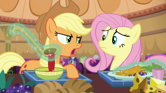 "File:Applejack ""those two not bein' friends isn't a problem"" S6E20.png"