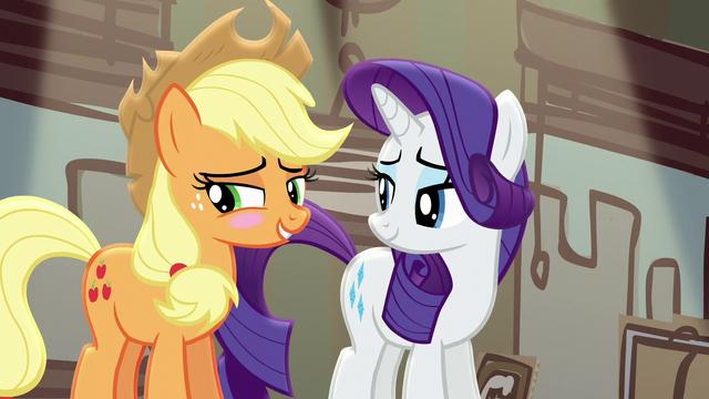 File:Applejack blushing again S5E16.png