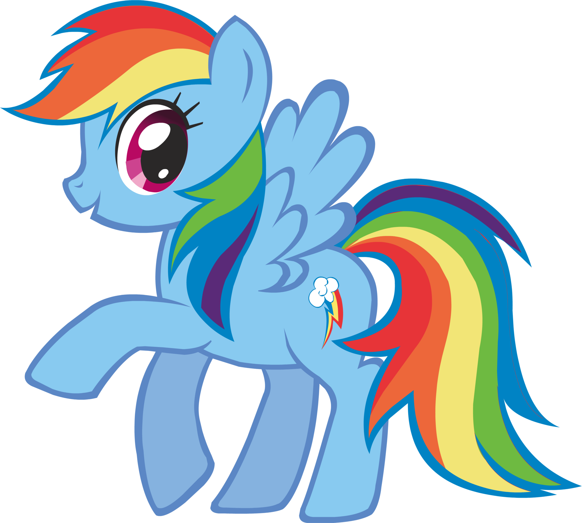 Imagem - Canterlot Castle Rainbow Dash 3.png