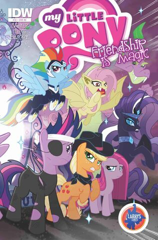 File:Comic issue 32 Larry's Comics BronyCon cover.jpg
