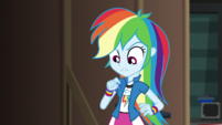 """Rainbow """"my geode gives me super speed"""" EGS2"""