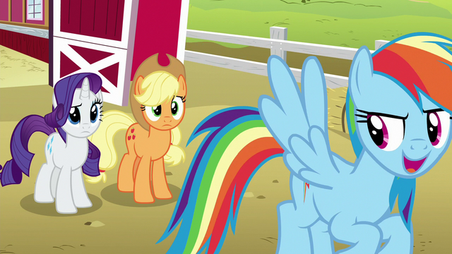 File:Rainbow Dash laughing mischievously S6E15.png