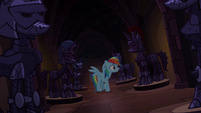 Rainbow Dash looking for Applejack S4E03