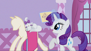Rarity talking to Opalescence S1E14.png