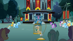 A magic duel at Town Square S3E5.png