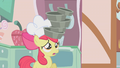 Apple Bloom balancing pans on head S1E12.png