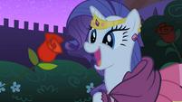 """Blueblood """"offers"""" Rarity a rose S01E26"""