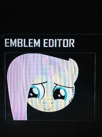 File:FANMADE Fluttershy Black Ops 2 Emblem.jpg