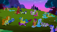 Ponies after the fight S02E03