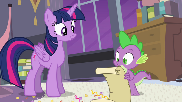 File:Spike takes out the checklist S4E01.png