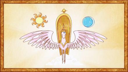 Storybook Celestia taking on responsibility S01E01