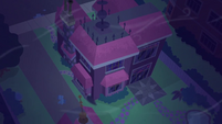 Twilight Sparkle's house windy exterior SS5