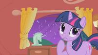 Twilight thinks about Celestia's visit S1E10